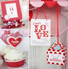 """Darling """"Cupid's Love"""" Post Office Party // Hostess with the Mostess®"""