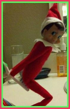 elf on shelf adult ideas | ha ha ha | Elf On The Shelf Ideas ♡