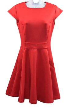Sale price £39.99 (RRP £179) Ted Baker Red Dress - @auraboxx.com #Ladies #tedbaker #dresses