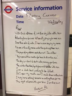 train station poem thought of the day rain Kazim Ali