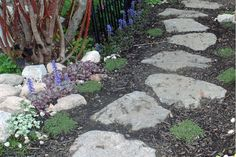 You don't have to be a skilled mason to build a stone path. This project is easy to do and adds curb appeal to your home.