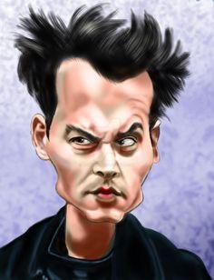 Johnny Depp by adavis57