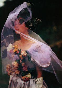 Photographed by Bruce Weber for Vogue UK December 1984