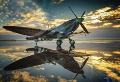 You can't imagine the feeling of wonder, viewing a vintage aircraft and watching a vintage aircraft flying. Ww2 Aircraft, Fighter Aircraft, Military Aircraft, Fighter Jets, Spitfire Supermarine, Image Avion, The Spitfires, Airplane Fighter, Ww2 Planes