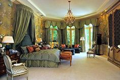 regency -   For me it's the architecture of this room I like, windows etc, and the feel. Guest room.