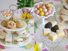 tea party menu | One of my favorite things about tea parties is eating beautiful food ...