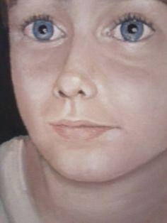 Oil Painting Portrait Johnny Stella Abekציור שמן פורטרט ג'וני סטלה אבק