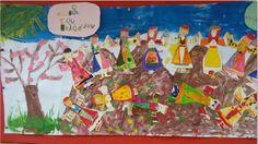 ...Το Νηπιαγωγείο μ' αρέσει πιο πολύ.: Σας περιμένουμε στη γιορτή μας.......25ης Μαρτίου συνέχεια... Painting, Art, Art Background, Painting Art, Paintings, Kunst, Drawings, Art Education