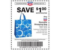 Rite Aid - Free Reusable Shopping Bag! (Starts Today) - http://www.momscouponbinder.com/rite-aid-free-reusable-shopping-bag-starts-today/