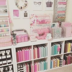 Girly craft organization