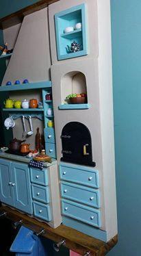 cozinha em miniatura