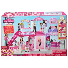 Barbie Shopping Mall Playset | http://www.thedollprincess.com/barbie-shopping-mall-playset/