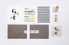 Wedding Invitation Tanya Duffy – Graphic Designer in Wedding
