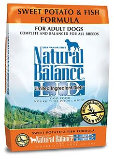 Natural Balance LID Limited Ingredient Diets Dry Dog Food Grain Free Sweet Potato  Fish Formula 26Pound -- Visit the image link more details. (This is an affiliate link) #dogfood