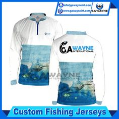 Fishing jerseys