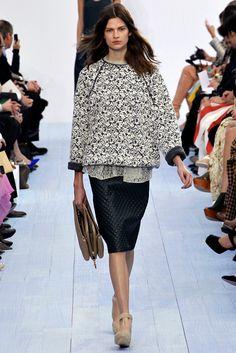 Chloé Fall 2012 Ready-to-Wear Fashion Show - Suvi Koponen