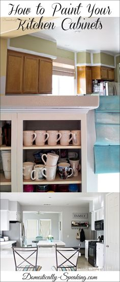 How to Paint Your Kitchen Cabinets - the ultimate step-by-step guide with all the supplies I used too!