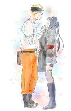 "naruhina-subarashi: "" ""🌷 Naruhina 🌷 "" By: しもやけ """