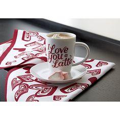 I Love You a Latte Mug   Crate and Barrel
