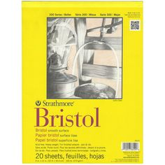 Strathmore BRISTOL SMOOTH 9 x 12 Paper Pad 365096 zoom image