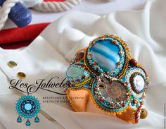 Купить или заказать Браслет 'Ellados' в интернет-магазине на Ярмарке Мастеров. Сочный, летний браслет с 'отпускным настроением' станет удачным дополнением к легкому летнему гардеробу или к одежде в джинсовом стиле.