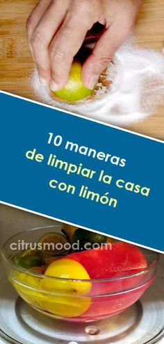 10 ways to clean the house with lemon - Home Cleaning Krud Kutter, Wipe Out, Housekeeping, Clean House, Cleaning, Fruit, Notice Period, Alonso, Living Area