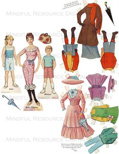 Vintage Disney Mary Poppins Printable Paper by mindfulresource