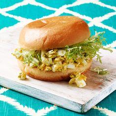 Pesto Egg Salad Sandwiches - Rachael Ray Every Day