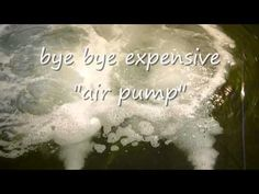 mega oxygen aeration circulation (how to make)for pond - YouTube