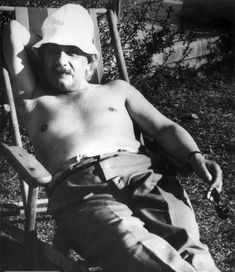albert einstein, palm springs 1932.