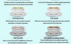 10 types de thés et infusions pour être en excellente santé - Astuces de grand mère