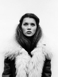ANGEL FACE! love the jacket and hair x    Kate Moss  ::  by Corrine Day