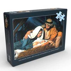 LDS Art - Christmas & Nativity — Altus Fine Art Baby Jesus Pictures, Pictures Of Christ, Family Pictures, Simon Dewey, Book Of Mormon Scriptures, Baptism Gifts For Boys, 100 Piece Puzzles, Boxed Christmas Cards, Lds Art