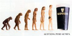 Darwin's Theory Of Evolution, Darwin Theory, Pure Genius, Great Ads, Advertising Campaign, Guinness, My Books, Pure Products, Movie Posters
