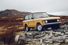 Land Rover Classic will extend its historic Reborn program to a 1977 Range Rover three-door, destined for Salón Retromobile 2017 in Paris next week.