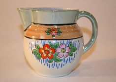 Lusterware Small Vintage Pitcher