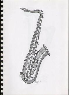 saxofoon Bobbin Lace Patterns, Crochet Patterns, Bobbin Lacemaking, Lace Making, Pattern Books, Madonna, Artwork, Music Signs, Saxophones