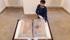 "This massive medieval manuscript, nicknamed ""The Devil's Bible,"" contains multiple lengthy entries, a few shorter pieces, and several illustrations. Written by a single scribe, the Codex Gigas is often sensationalized in stories about its creation."