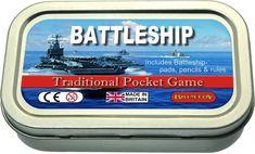 Travel Battleship Game Pocket Size Games Retro  #RetroGames