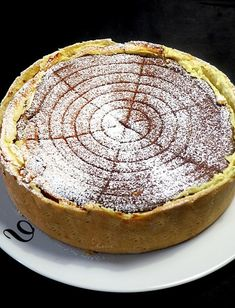 Tarte au fromage blanc Cottage cheese tart, a dessert straight from Alsace Tart Recipes, Cheesecake Recipes, Cookie Recipes, Cheese Tarts, Cheese Bread, Cheese Design, White Cheese, Cake Factory, Thermomix Desserts