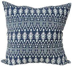 Tribal Ikat Pillow #UOonCampus #UOcontest
