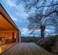Stunning Four Seasons House is a Small Wooden Retreat Tucked in the Heart of the Spanish Plains   Inhabitat - Green Design, Innovation, Architecture, Green Building