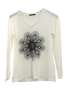 Blusa de Tricô com Estampa Digital  #moda #atacado #tricô #estampadigital #blogdemoda #lookdodia