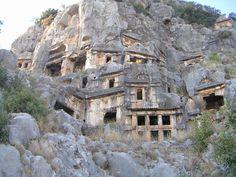 Myra - Felsengräber an der Grenze zwischen Türkischer Ägäis und Riviera
