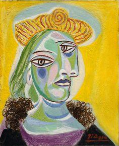 Pablo Picasso, 'Bust of a Woman (Dora Maar)', 1938, Hirshhorn Museum and Sculpture Garden, Gift of Joseph H. Hirshhorn, 1966 © Succession Picasso / 2016, ProLitteris, Zurich