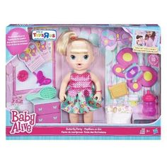 ec61c4dd1 Boneca Baby Alive - Borboletinha Loira - Hasbro