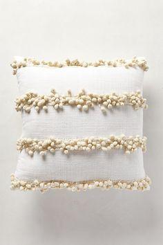 Tassel Trace Pillow #anthropologie (navy)