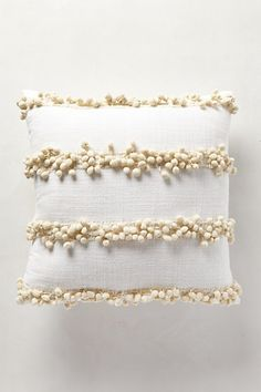 Tassel Trace Pillow #anthropologie