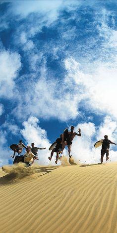 Te Paki Sand Dunes -