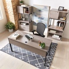 Simple Assembly Table Desk - 60W x 24D - 8828157 | OfficeFurniture.com